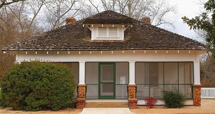 Jimmy carter s boyhood farm jimmy carter for Carter home designs