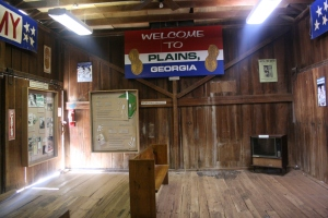 Jimmy Carter Presidential Campaign Headquarters inside the Depot (8)