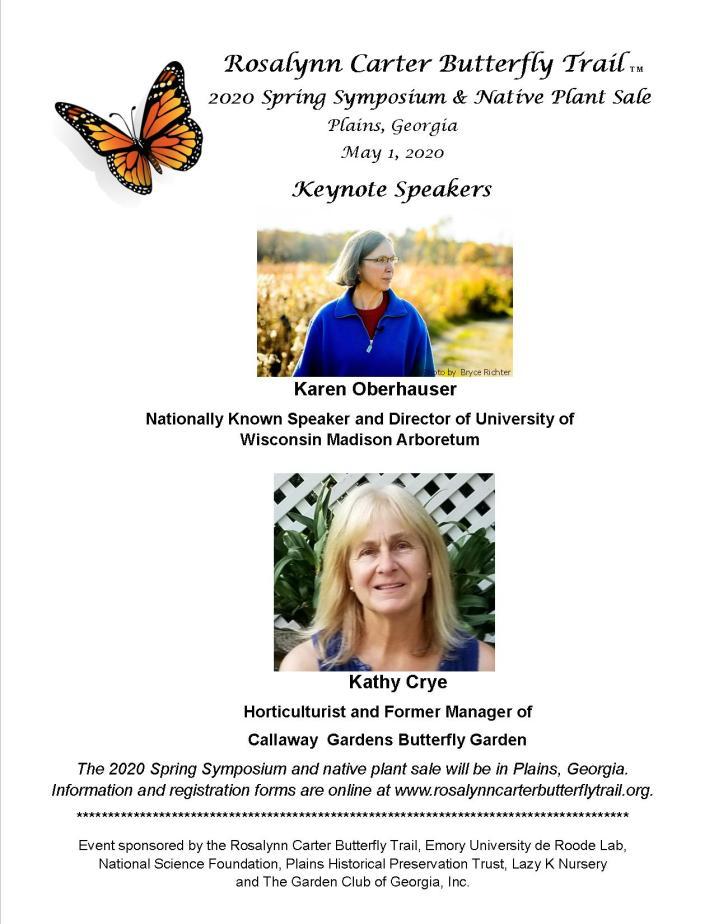 2020 Spring Symposium flier